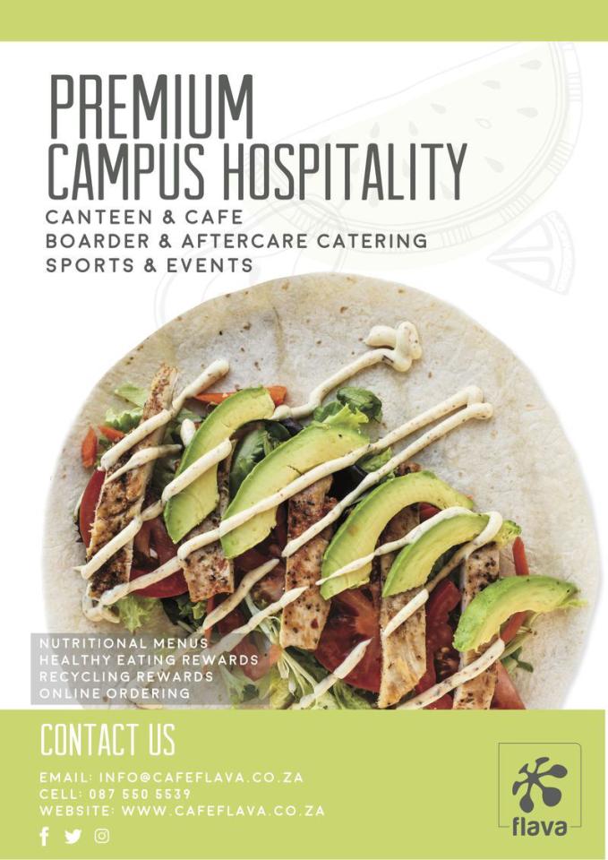 Cafe Flava Campus Hospitality